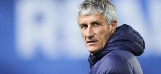 Barcelona sack Valverde, appoint Quique Sentien