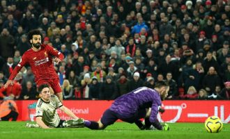 Liverpool beat Man United to establish 16-point lead