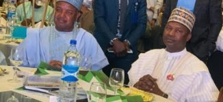 PHOTOS: Malami, Dolapo Osinbajo attend 10th anniversary of Bagudu wife's foundation