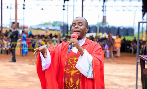 Mbaka to Buhari: God is angry with you — resign now