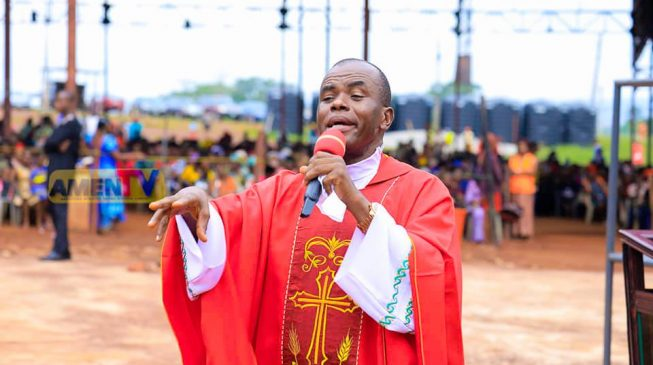 'The Holy Spirit has rejected Ihedioha' — how Mbaka prophesied victory of Uzodinma