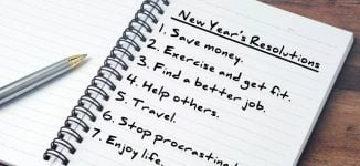 Five tips to help you stick to your new year resolutions