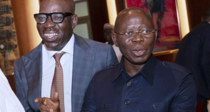 FLASHBACK: Oshiomhole once wanted building named after Obaseki for 'selfless service'