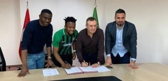 Onazi, Super Eagles midfielder, joins Denizlispor