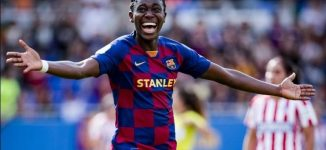Oshoala, Super Falcons captain, makes Forbes under 30 list