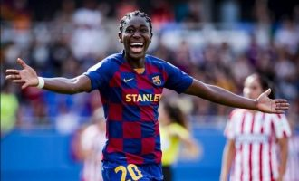 Oshoala: Barcelona is the best club I've ever played for… they helped me improve