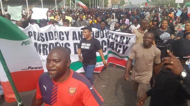 APC describes PDP protest as disgraceful and senseless
