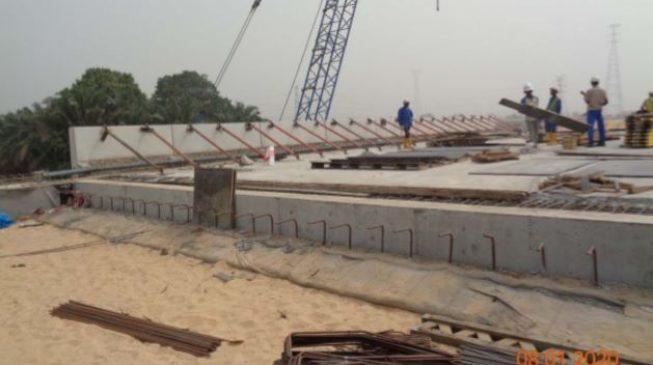 PHOTOS: Julius Berger releases fresh images on progress of 2nd Niger bridge