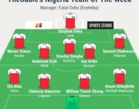 Akpeyi, Troost-Ekong, Aribo… TheCable's team of the week