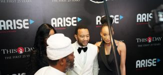 WATCH: John Legend thrills guests at ThisDay's 25th anniversary