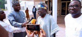 Tinubu: Buhari has the courage to resist third term temptation