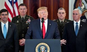 We are ready to embrace peace, says Trump