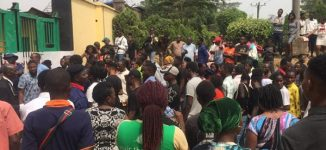 PHOTOS: UTME candidates queue up for NIN registration — despite suspension