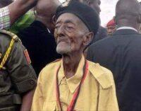 Nigeria's oldest war veteran dies at 101