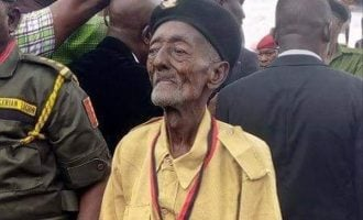 Nigeria's oldest war veteran dies at 101