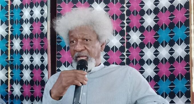 Commenting on Buhari's administration isn't good for my sanity, says Soyinka