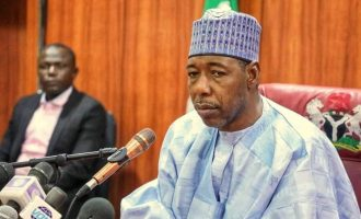 I'll be regular here, says Zulum as he establishes an office in Auno