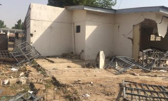 Kwara govt demolishes Saraki's 'political home'
