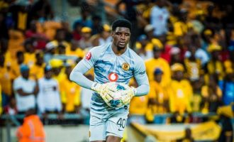 Akpeyi, Eagles goalkeeper, earns contract extension with Kaizer Chiefs
