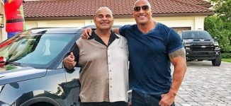 'The Rock' loses father at 75
