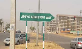 FCT road renamed after Stella Adadevoh