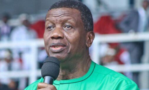 Adeboye: Nigeria may break up if not restructured