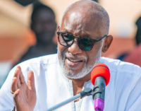 'Violence is against Yoruba values' — Akeredolu condemns Shasha crisis