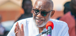Akeredolu: There's a serious security crisis in Ondo