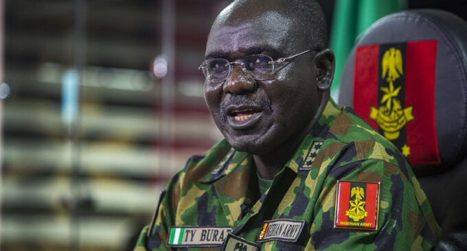 Buratai named 'most outstanding Chief of Army Staff'