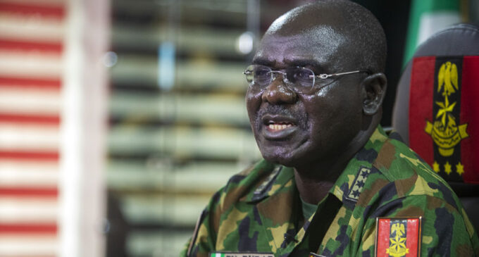 Buratai on #EndSARS protests: We only ensured compliance with curfew