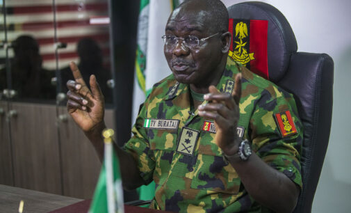 Buratai: Service chiefs have not disappointed Nigerians on security