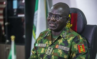 How Buratai's convoy 'rescued stranded passengers' in Borno