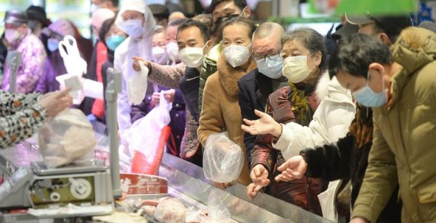 Life in the Chinese town where coronavirus broke out