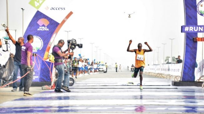 Kenya's David Tumo wins 2020 Lagos city Marathon