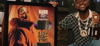 Davido hits platinum with 'A Good Time' album