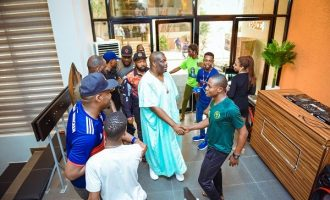 PHOTOS: Don Jazzy, D'banj, Falz… celebrities attend Trace's new office launch in Lagos