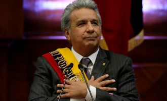 Ecuador president apologises for saying women only report harassment from 'ugly men'