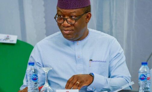 Fayemi: I'm not plotting to take over from Buhari