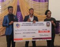 Law student wins 4th 'Fisayo Soyombo inter-varsity essay contest