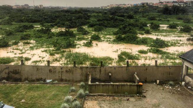 Magodo residents raise the alarm over 'plot to convert' flood-prone area to an estate