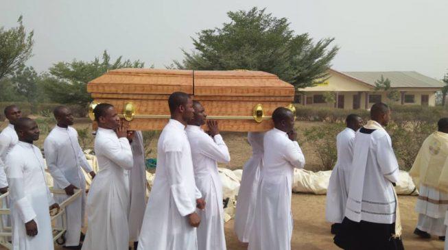 PHOTOS: Murdered seminarian buried in Kaduna