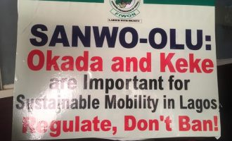 'Residents groaning in pain' — group asks Sanwo-Olu to lift ban on okada
