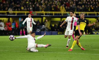 UCL: Haaland shines for Dortmund as Atletico Madrid beat Liverpool