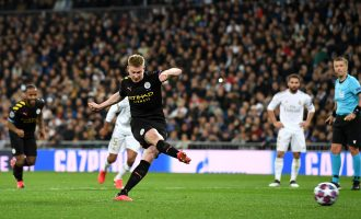 De Bruyne helps Man City beat Real Madrid in Spain