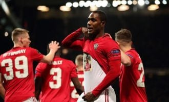 Ighalo becomes first Nigerian to score for Man Utd — after goal against Club Brugge
