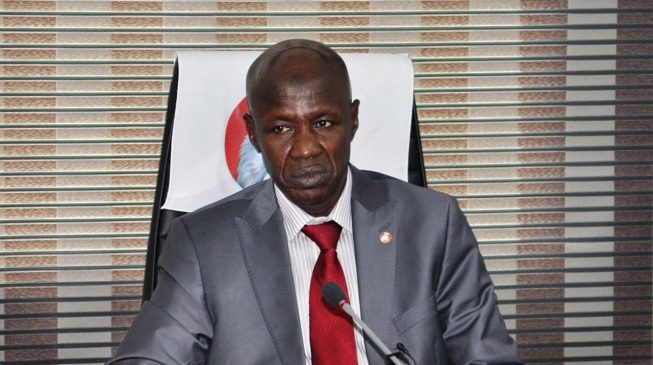 EFCC, your fight against corruption should start with your Twitter handle