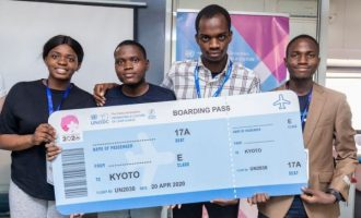 Nigerian students, who built software that 'detects child predators', to attend UN conference in Kyoto
