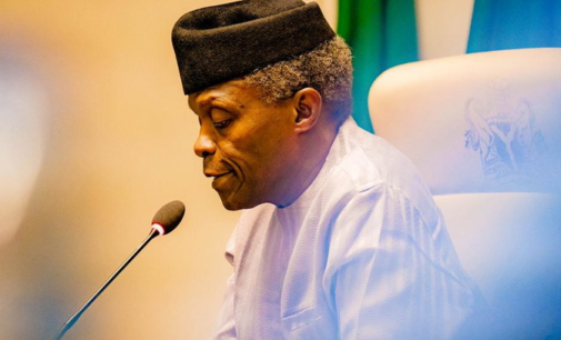 Osinbajo: We will soon reopen the land borders