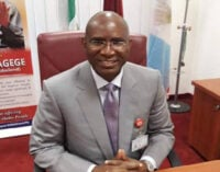 Omo-Agege presides over senate plenary — for the first time