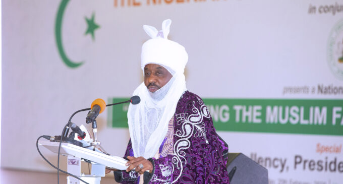 Sanusi: Nigeria's political structure economically unsustainable